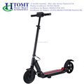 high quality folding e scooter mini foldable electric standing scooter from HTOMT factory