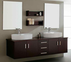Noble Bathroom Vanity Cabinet Double Sink Vanity With Mirror In Foshan Factory
