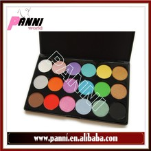 High pigmented eyeshadow/wholesale Pro Shimmer 18 Color Eyeshadow Makeup Cosmetic Palette Eye Shadow