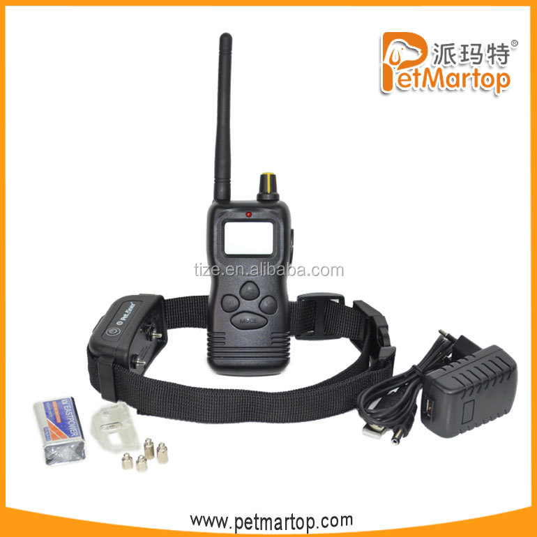 hot sell easy remote pet electronic training collars TZ-PET900B