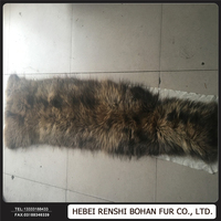 Raccoon Fur Real Fur Skin