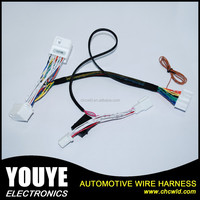 Automotive wire harness for power window up and down device