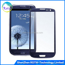 Original OEM S3 front Glass , Front Glass Lens Cover Outer Touch Panel Screen Replacement for Samsung Galaxy S3 T999 i747