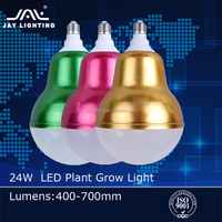 24W E27 LED Plant Grow Lights for indoor plants growing