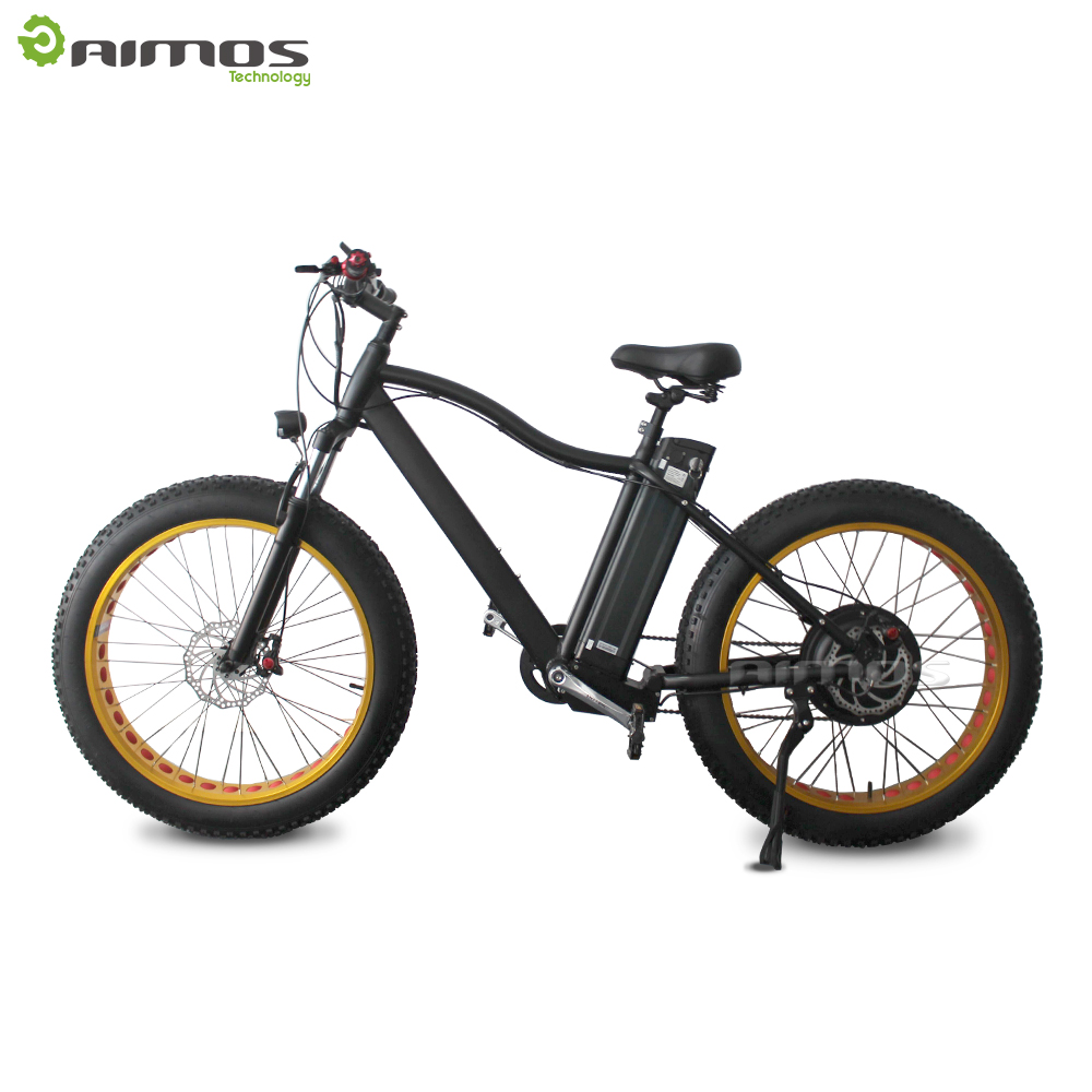 26 inch fashion 2 wheels PAS fat tire electric bicycle off road electric vehicle