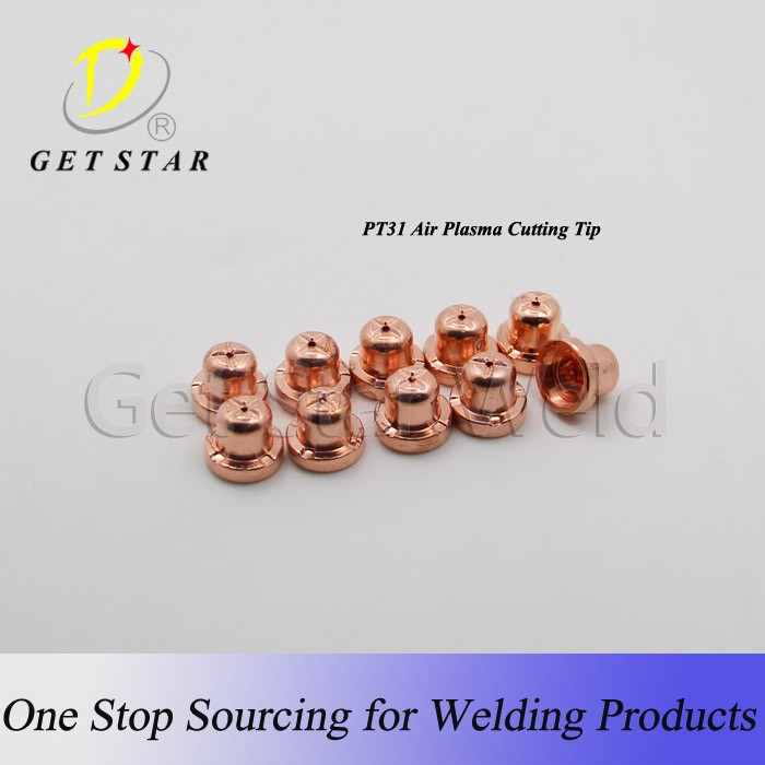 Guangzhou Red Copper PT31 air-cooled plasma cutting electrode / cutting nozzle/tip
