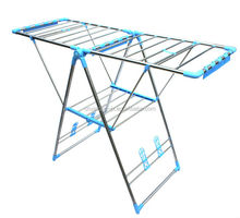 Foldable Laundry Steel Material Folding Clothes Drying Rack