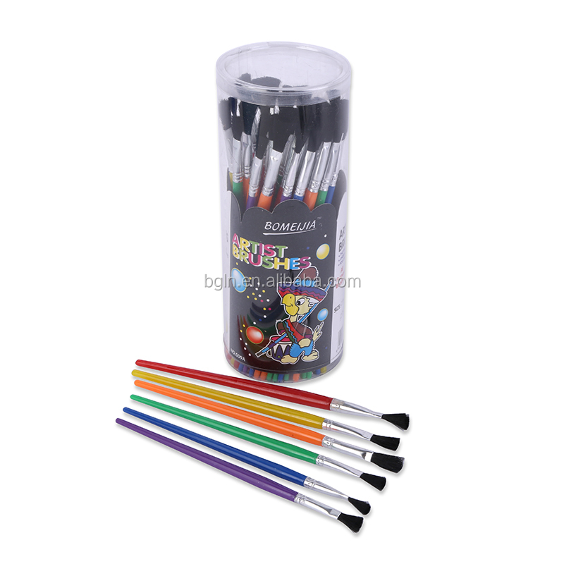 1-6# Cheap Kids Choece Art Paint Brush, Assorted Sizes, Pack of 144 Brushes