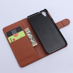 Fashionable top sell flip case for htc desire d626