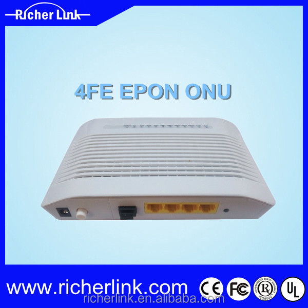 EPON/GEPON OLT ONU for FTTH/FTTX with 8 PON Ports RL804 Epon ONU With 1GE+1CATV