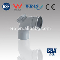 pvc pipe fittings with rubber joint rubber elbow pipe fitting