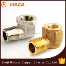 Material CW617N Forged Thread Male Female Brass Reducing Elbow