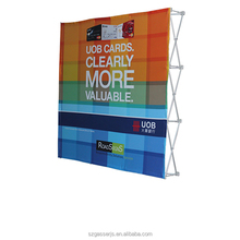 Eco-solvent Printing Pop Up Banner For Exhibition