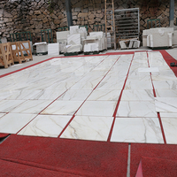 calacatta gold white marble tile for flooring , polished calacatta gold marble slab price