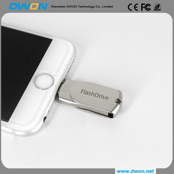 Mini OTG USB flash drive for smart phone with free logo printing free sample memory stick as gift purpose