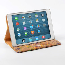 2015 Innovative Hot Selling Smart Cork Cover Case for iPad Mini