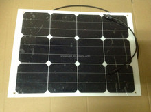 40w High efficiency back-contact flexible solar photovoltaic panel