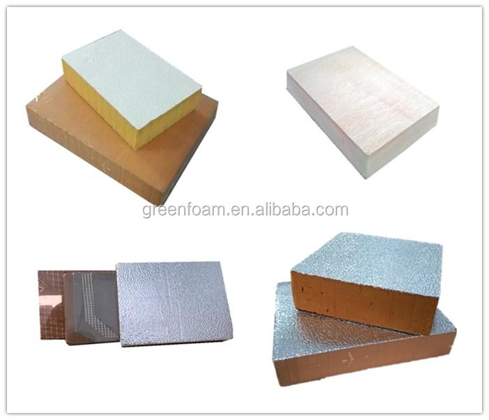 Phenolic Foam Insulation : Fireproof phenolic foam insulation board for wall