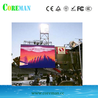decoracion interiores rgb led video controller p2p2.5p3p4p5p6full color led screen