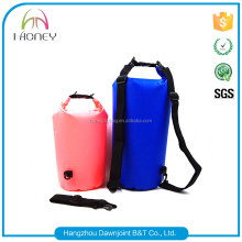 Hot sale high quality pvc waterproof dry bag for beach hiking