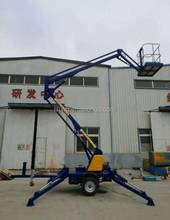 8-20m high quality used boom man lift