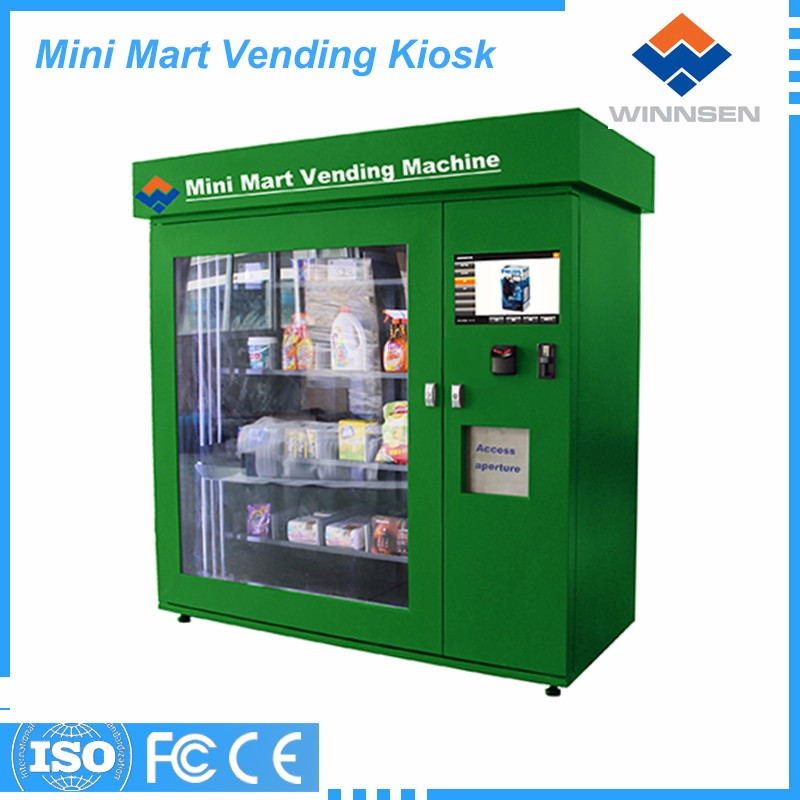 Good supplier bubble gum vending machine snack clothing toy selling equipment