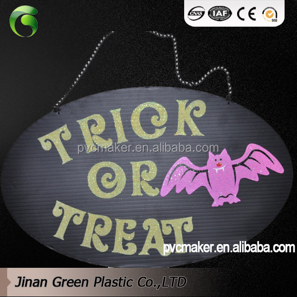 PP Plastic Sheet for Hallowmas Placard