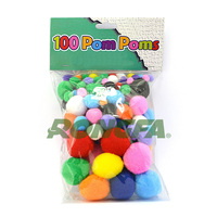Diy Handmade accessories Craft Pom Poms for Wholesale