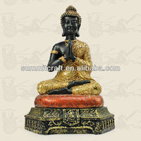 Custom resin thai buddha statue
