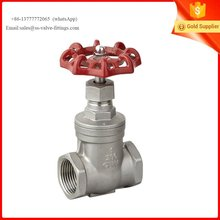 stainless steel 304 gate valve for oil and water