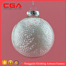 wholesale glass home decorations Christmas ball custom Christmas tree decoration