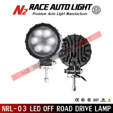 18W 6LED Round Work Light Spot Beam Lamp Offroad Car Truck SUV Jeep 4x4WD