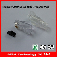 The New Style AMP Cat5e Modular plug Rj45 8P8C