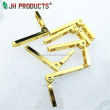 Shinning Gold Wood Jewelry&Ring Box Hinge Small Quadrant Hinge For Wooden Box