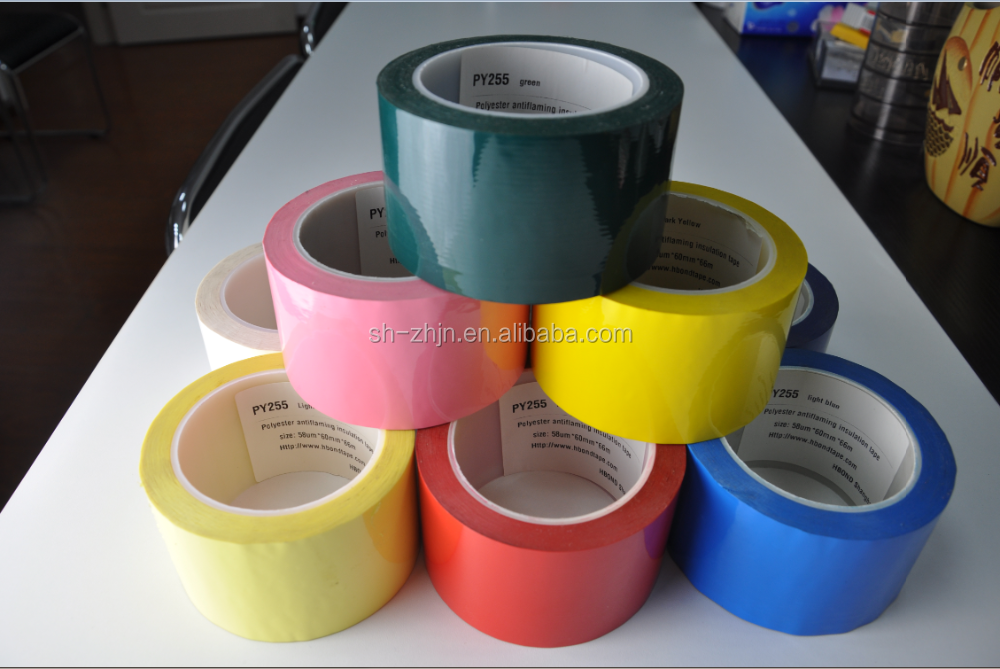 non flammable adhesive mylar insulation tape