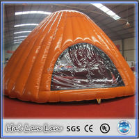 2015 china style inflatable snow globe tent on sale