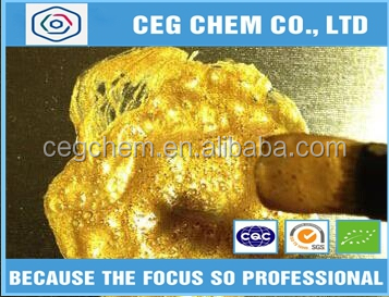 Liquid gold coating pigment