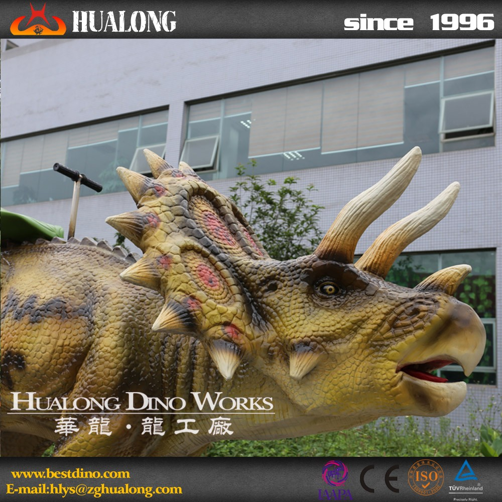 Ride-simulators For Animatronic Dinosaur Ride