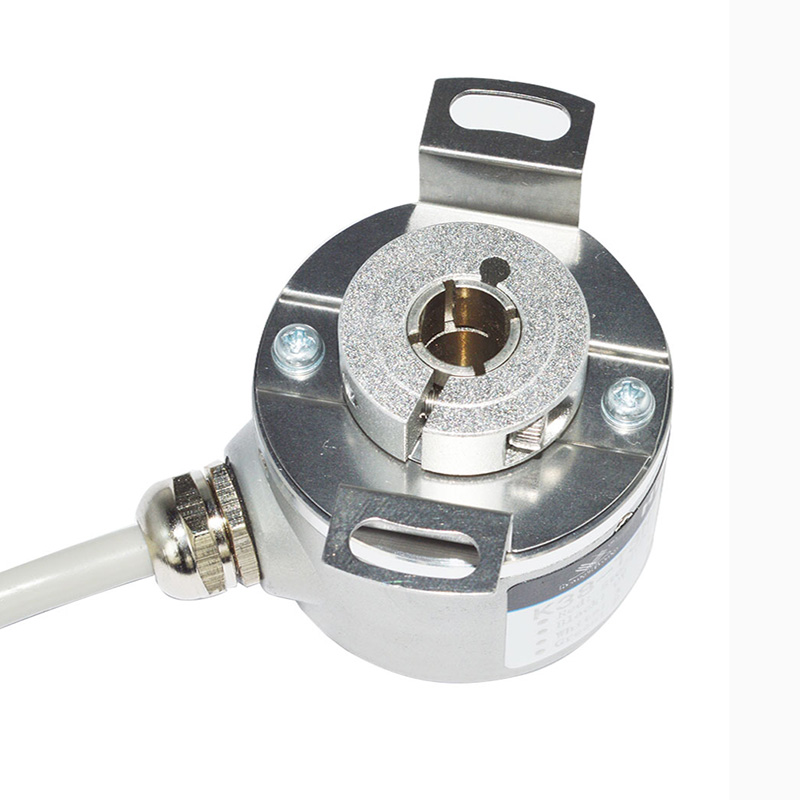 Rotating speed measuring optical encode through hole 6.35mm