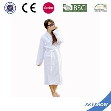 Latest Green Eco girl bath robe with zipper
