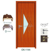 Latest Design office knotty alder solid interior door