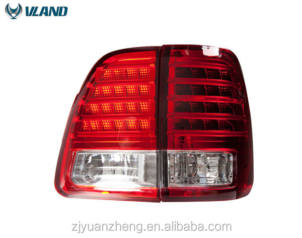 ABS 55W 12V car accessory Tail Light For Land Cruiser Tail Lamp 2000 2001 2002 2003 2004 2005 2006 2007