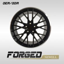 10 spoke alloy wheels pure silver bracelet electric power sports car rims forged aluminum alloy wheel rims