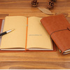 6 Colors Retro Leather Bound Notebook