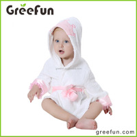 Extremely comfortable Amazon Hot Sale Manufacture Fashion Princess Super Soft Hooded Baby Girl Bathrobes Directly Buy China
