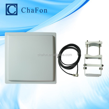 uhf directional antenna with 12dBi gain support ISO18000-6C(EPC GEN2) protocol to read and read range up to 10~12m
