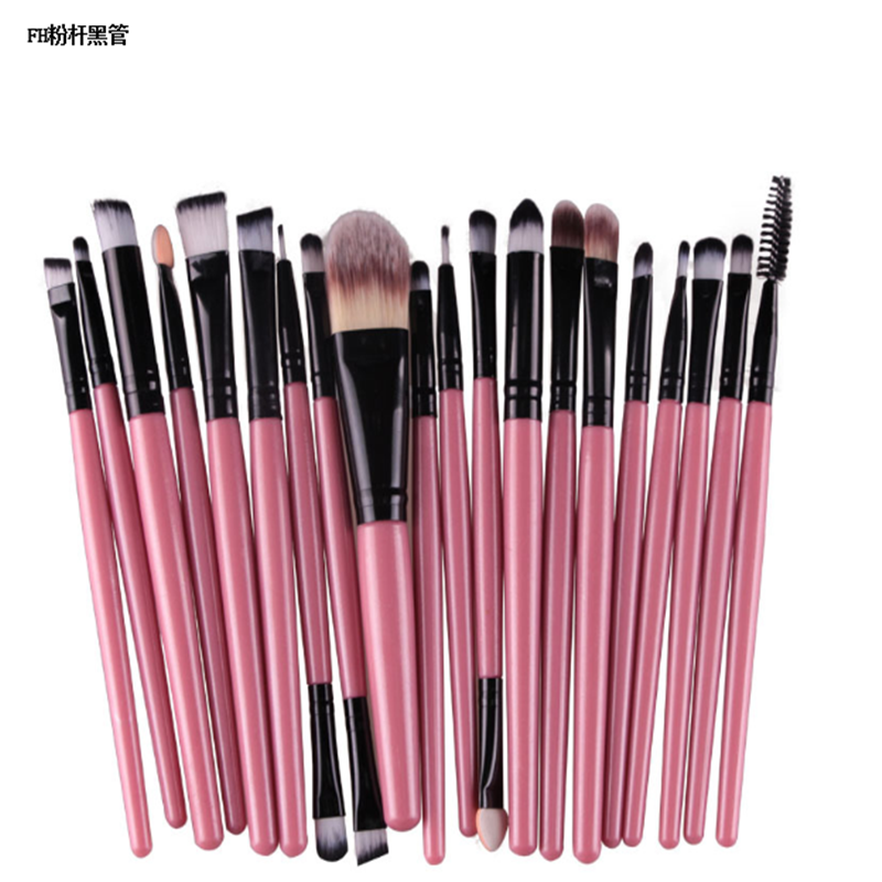 Bán buôn Trung Quốc Make Up Brush/Tổng Hợp Makeup Hair Brush 20 Cái Professional Make Up Brush