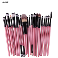 Wholesale China Make Up Brush / Synthetic Hair Makeup Brush 20 Pcs Professional Make Up Brush