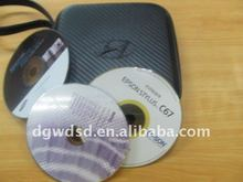 4c print custom metal CD case for packing