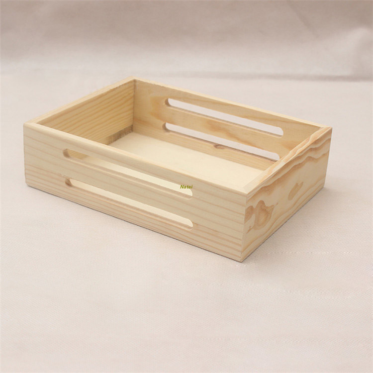 Hot-sale pretty Cheap Wooden fruit Storage Crates